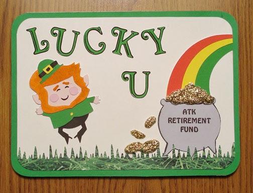 Cricut Design For Retirement Card