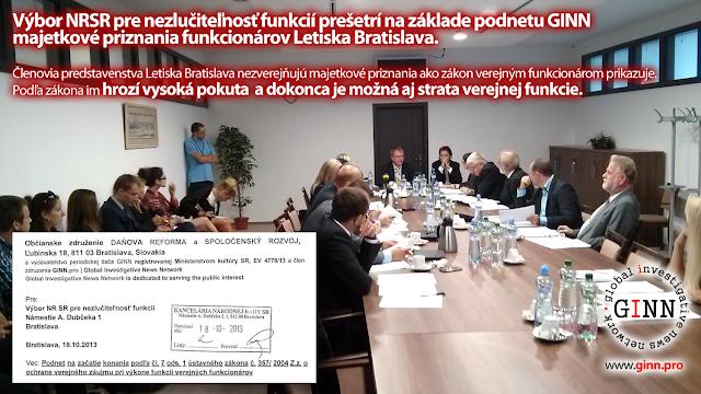 Výbor pre nezlučiteľnosť funkcií NRSR prešetrí vedenie letiska Bratislava, BTS
