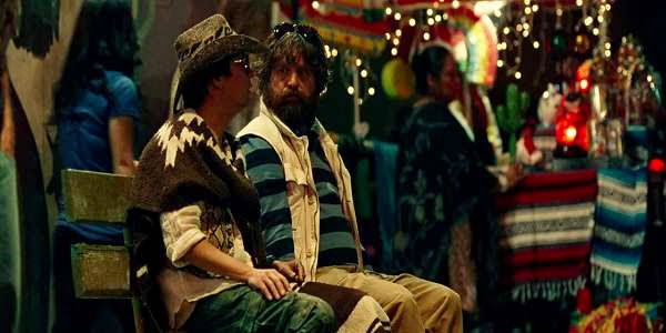 Screen Shot Of Hollywood Movie The Hangover Part III (2013) Download And Watch Online Free at Alldownloads4u.Com