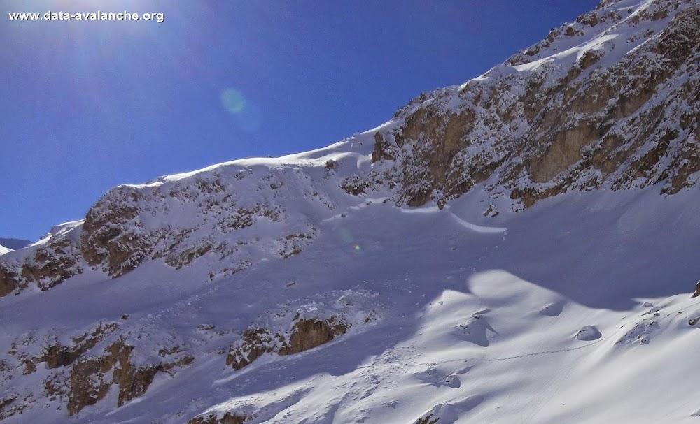 Avalanche Haute Tarentaise, secteur Val d'Isère, Rocher du Mont Roup - Photo 1