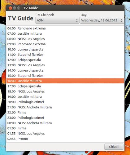 TV-Maxe 0.08 - Guida TV