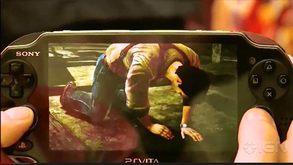 【アンチャーテッド】Vita版最新?カム撮りプレイ映像