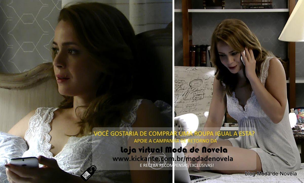moda da novela Império, look da Cristina dia 2 de fevereiro de 2015