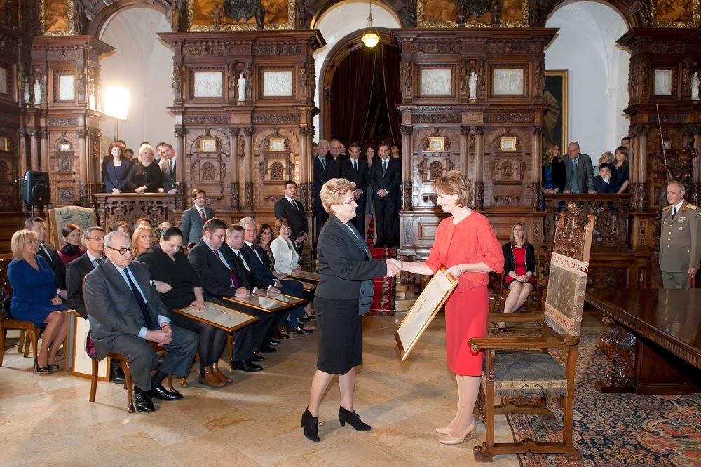 Ceremonia de învestire a unor noi Furnizori ai Casei Regale a României
