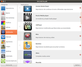 Eve Installer o una alternativa al Centro de Software de Ubuntu