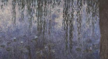 Les Nymphéas, les deux saules - Monet