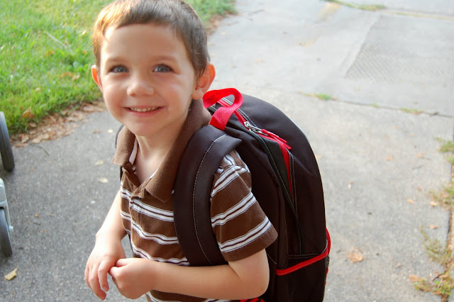 first day of kindergarten 2011