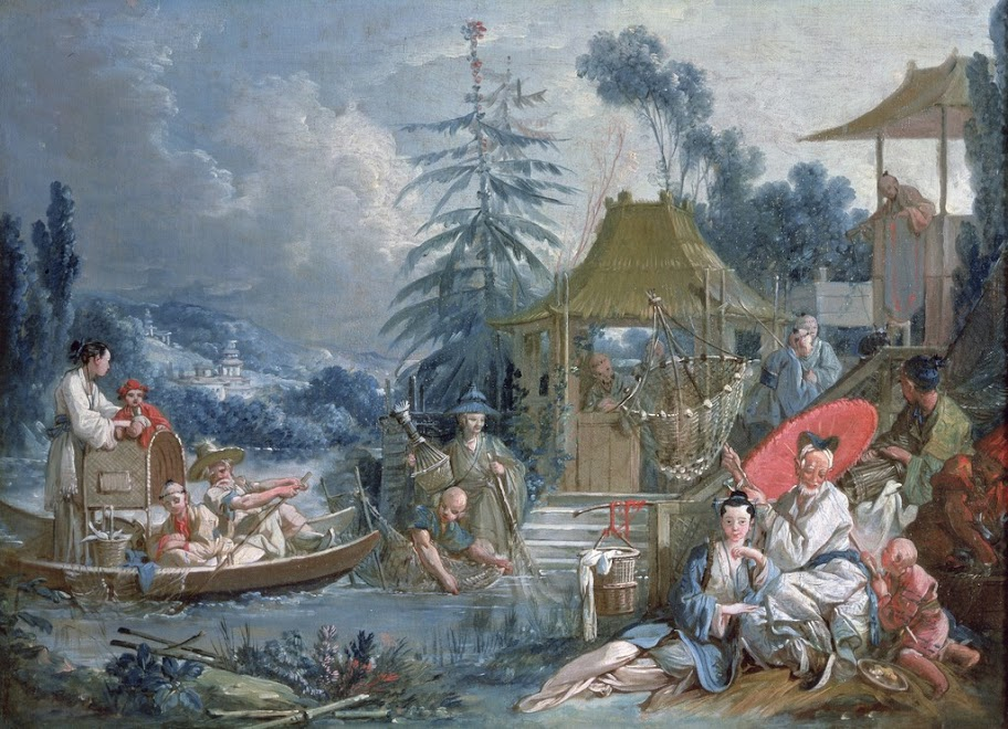 Francois Boucher - The Chinese Fishermen