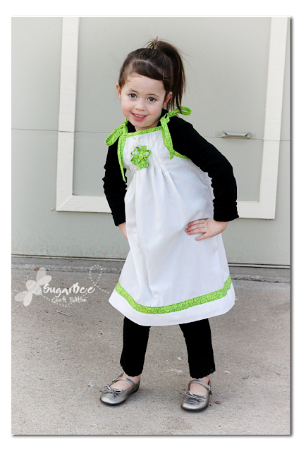 St. Patty's Pillowcase Dress for March