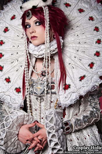 trinity blood cosplay - esther blanchett