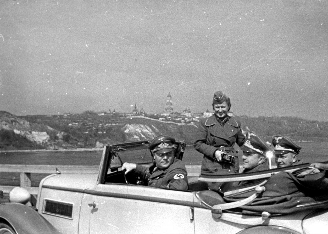 Визит Альфреда Розенберга в Киев, 1942