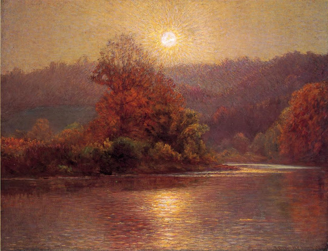 J. Ottis Adams - The Closing of an Autumn Day