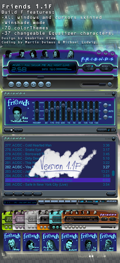 skins md32 pour winamp