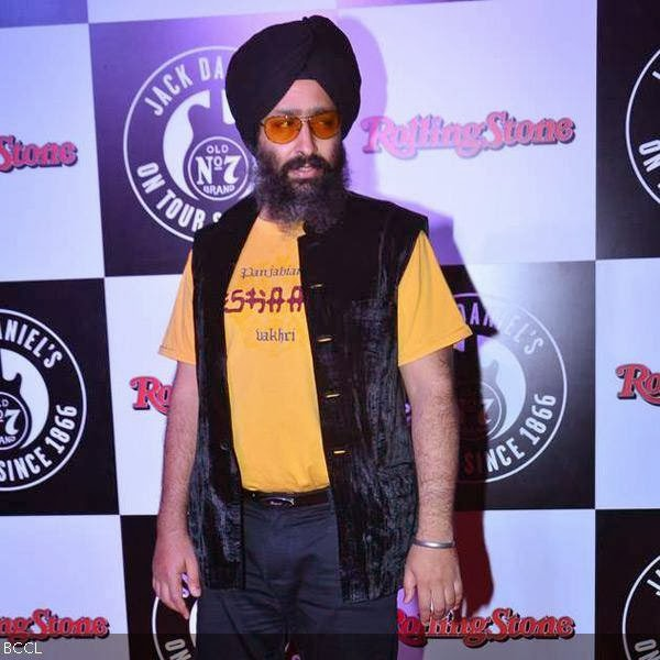 Singer Rabbi Shergill during Rolling Stone awards, held in Mumbai. (Pic: Viral Bhayani)<br />