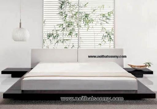 Giường ngủ gỗ kiểu nhật-3