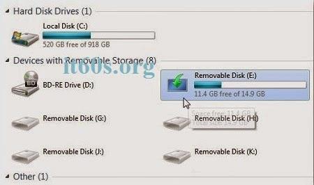 Cách tạo đĩa cài đặt windows 8 bằng USB 6