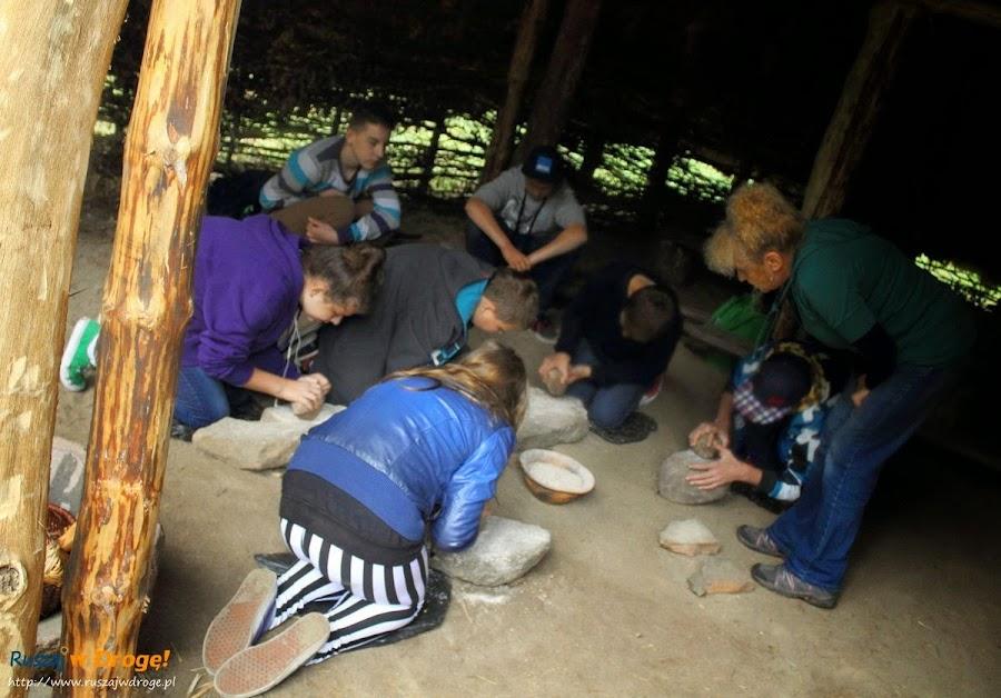 krzemionki  - wioska neolityczna, warsztaty dla dzieci