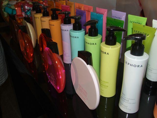 Open Box Sephora, romwe , lush