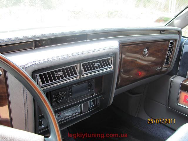 Перетяжка (восстановление) салона  Cadillac Fleetwood Brougham