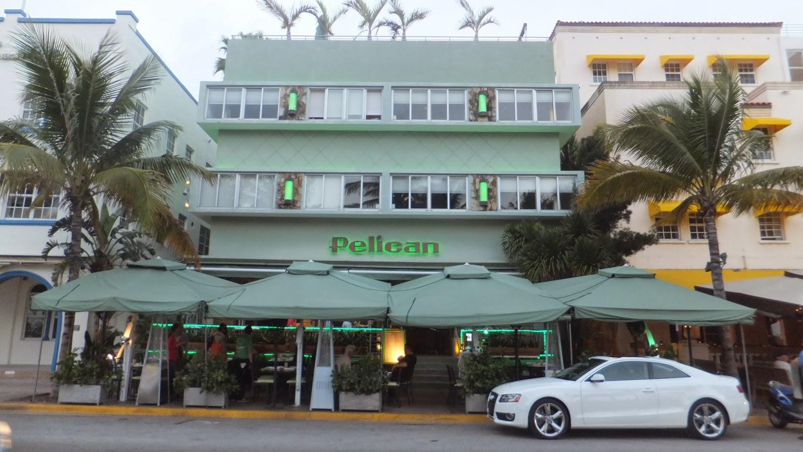 Pelican, Ocean Drive, Miami Beach, SoBe, Florida, Elisa N, Blog de Viajes, Lifestyle, Travel