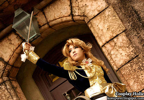 the rose of versailles cosplay - lady oscar françois de jarjayes