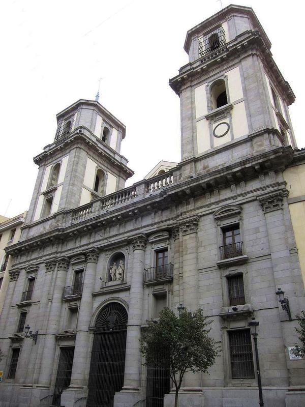 Colegiata de san isidro el real viendo madrid for Ministerio del interior san isidro
