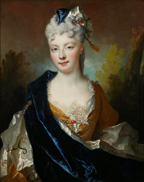 Nicolas de Largillière - Portrait of a Lady