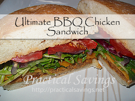 ultimate bbq chicken sandwich