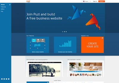 Puzl.com free online website builders