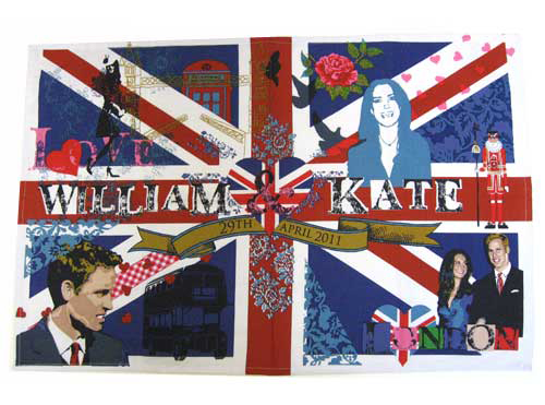 royal wedding tea towel. Royal Wedding tea towel