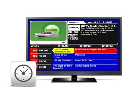 Shaw satellite channels
