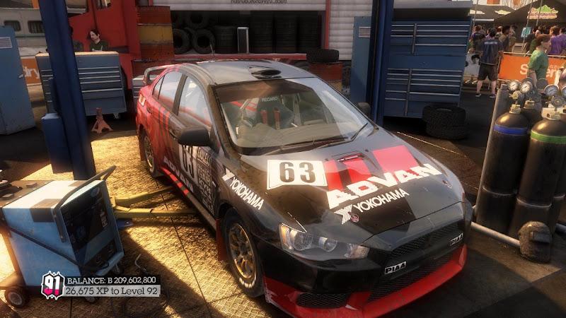 รายการรถกลุ่ม Rally ใน DiRT2 Mer-00
