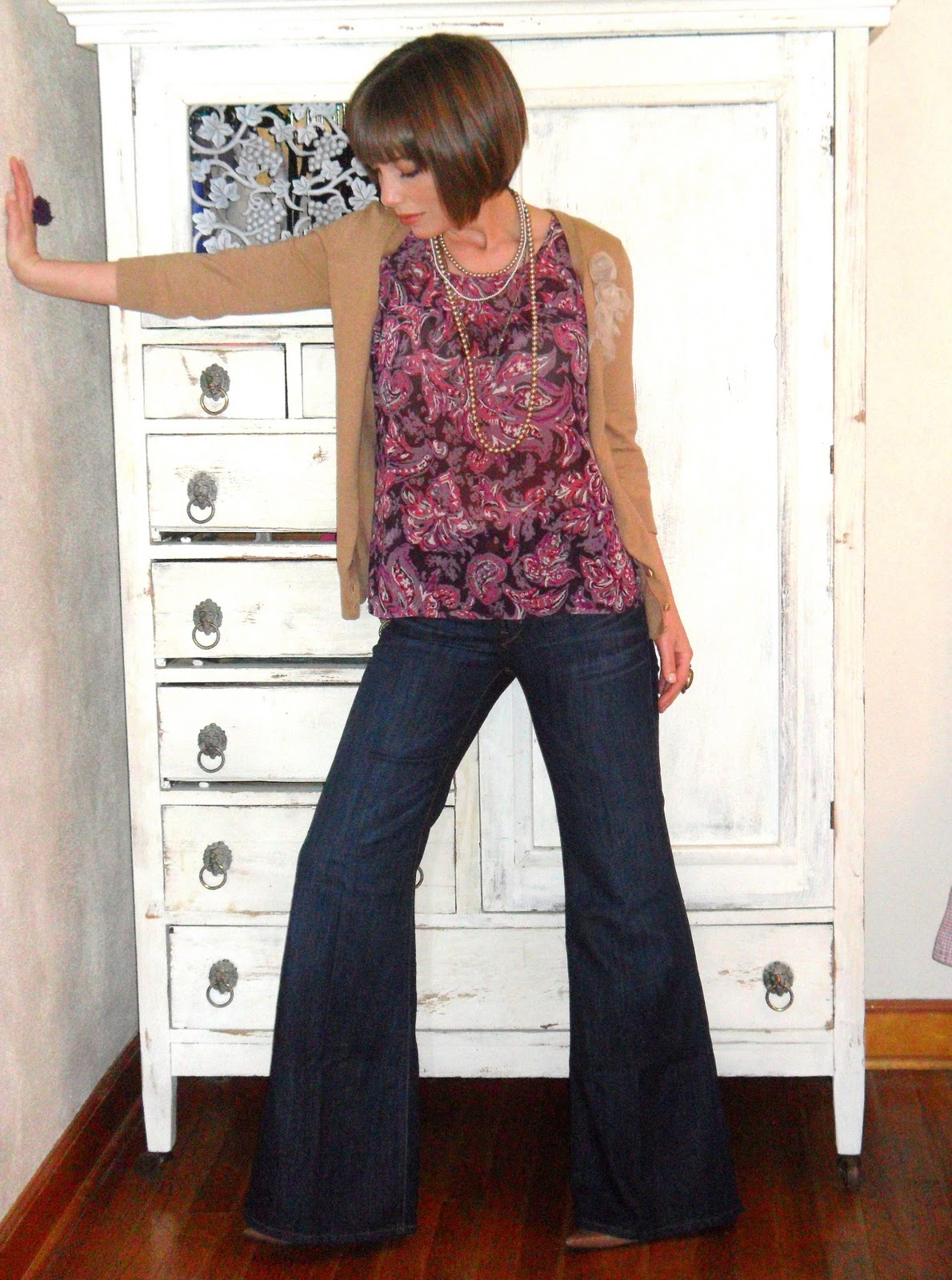 Petite Early Morning Style: Gap Wide Leg Trouser Review