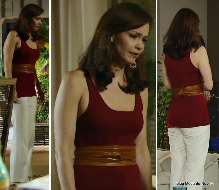 look da Helena na novela Em Família