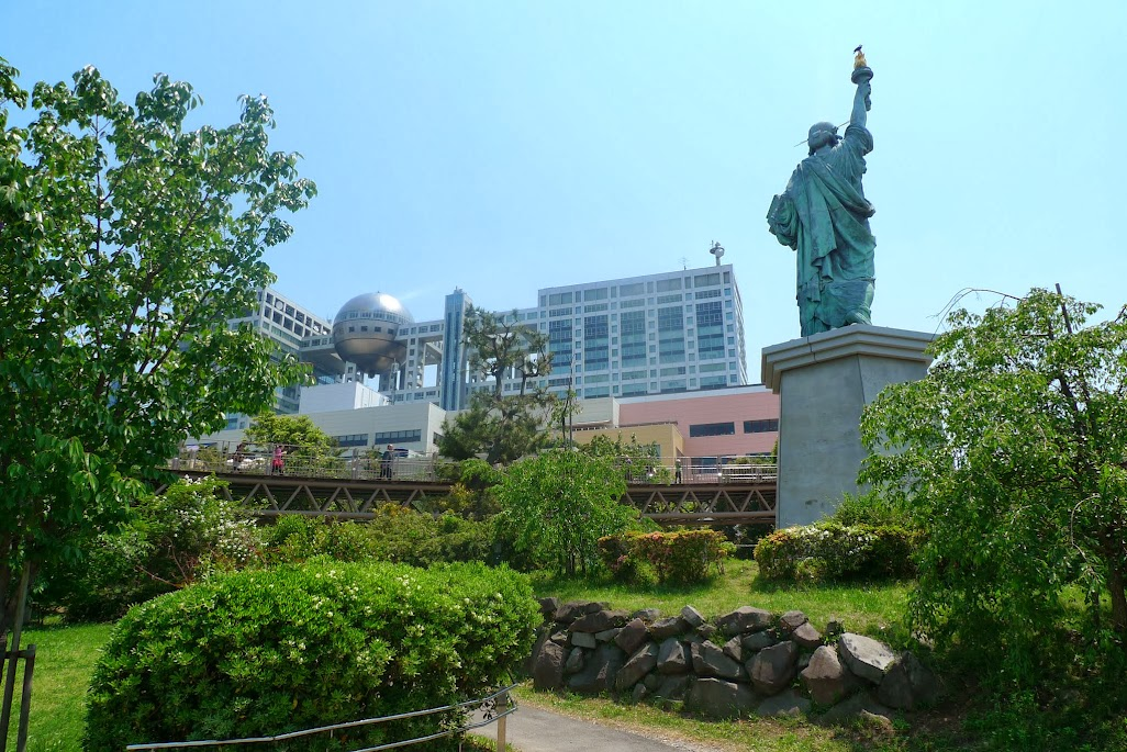 tokyo odaiba statue de la liberté