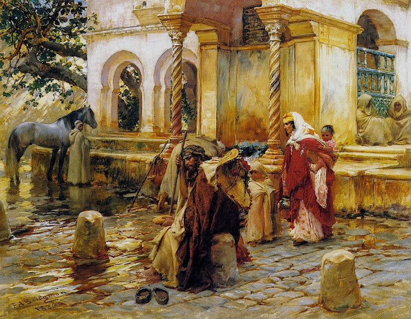 Frederick Arthur Bridgman - Fountain of Borkadem