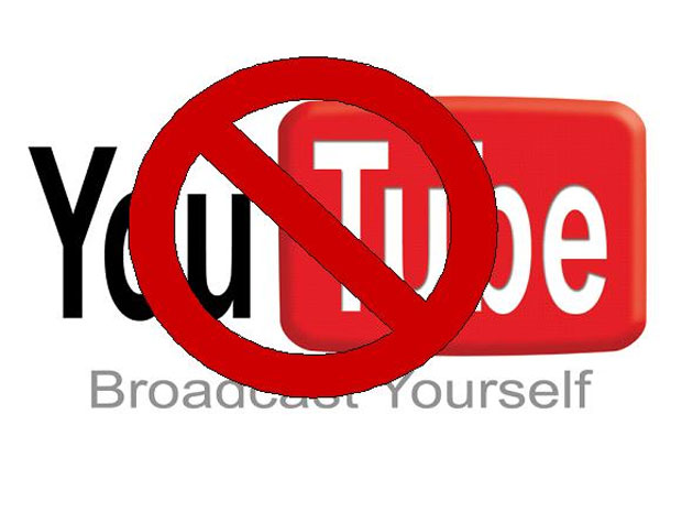 YouTube has been BANNED