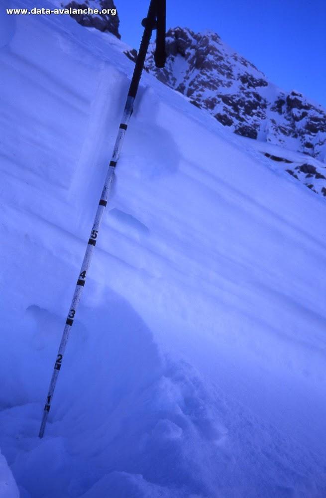Avalanche Mont Thabor, secteur Punta Bagna, Couloir de la Combe Perdue - Photo 1