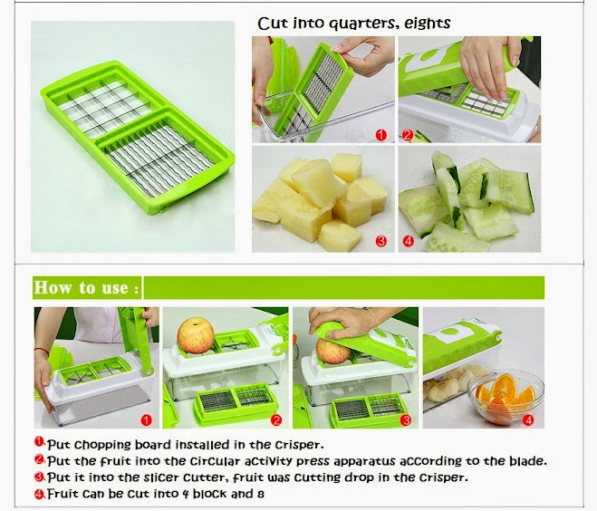 nicer dicer plus instruction manual