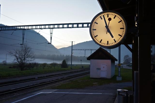 Bahnhof Noiraigue