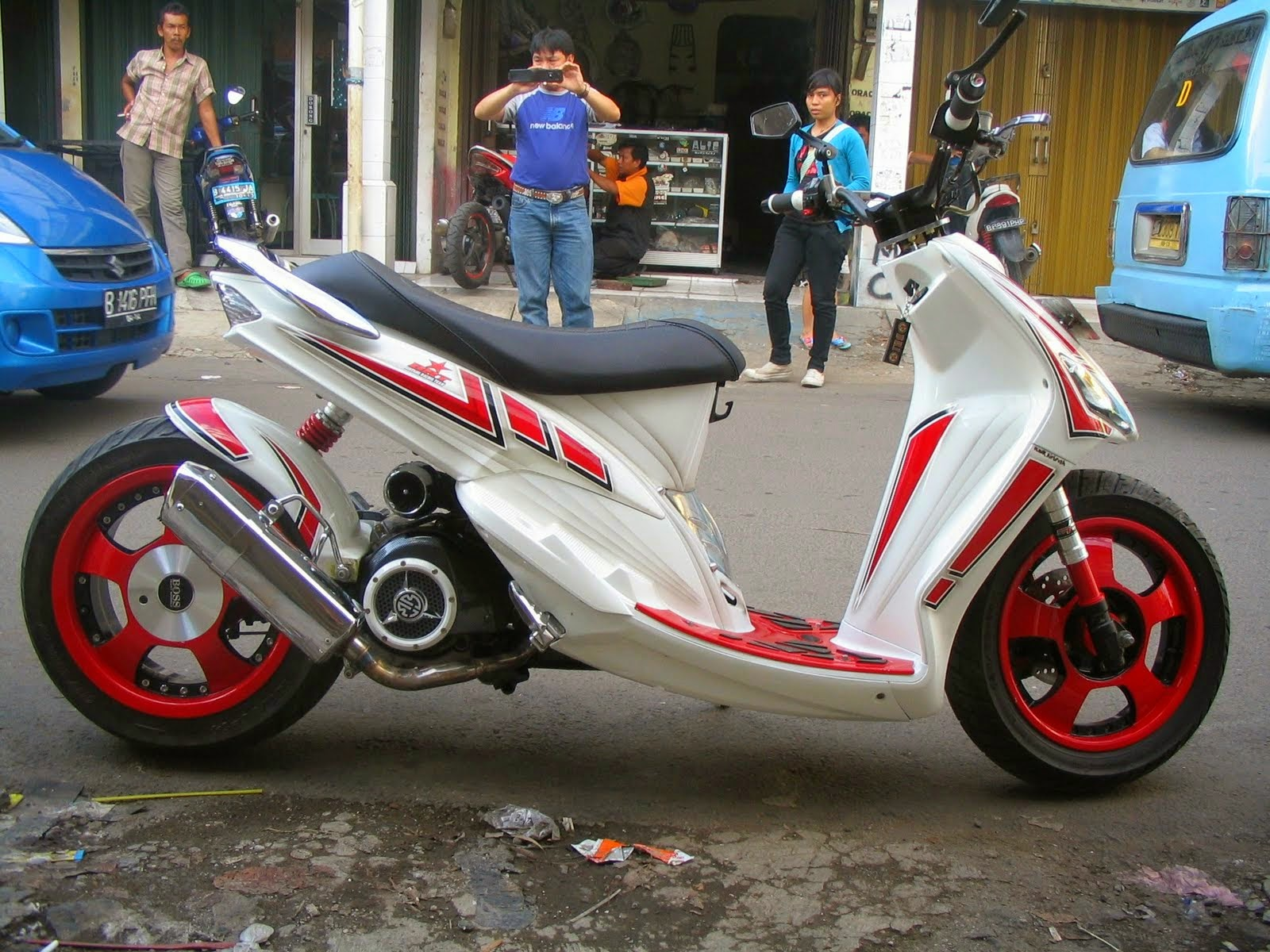 modifikasi mio sporty 2008