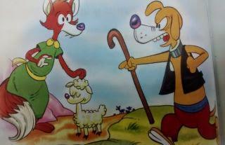 La zorra el perro y el corderito Fabulas para niños