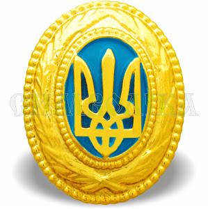 Кокарда генеральська золота (С.З.)