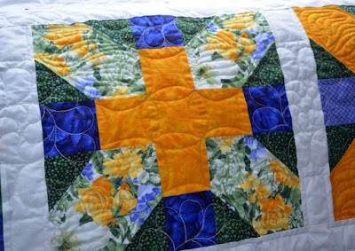 X and Plus Quilting Detail