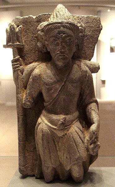 காந்தர நாட்டு மூன்று முக சிவபெருமான் சிலை