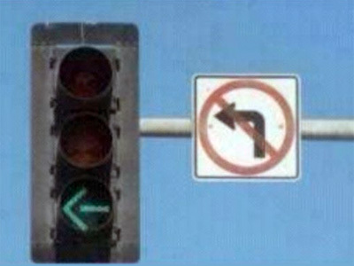 Fail Traffic Signs