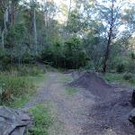 Bike jumps beside track (75357)