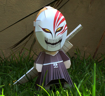 Genetically Altered Bleach Ichigo Paper Toy