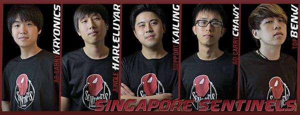 Hyhy rời khỏi đội hình thi đấu của Singapore Sentinels 1