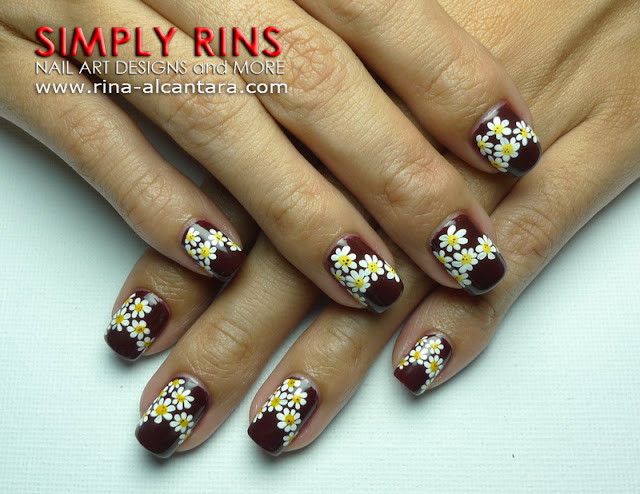 Needing Daisies Nail Art Design